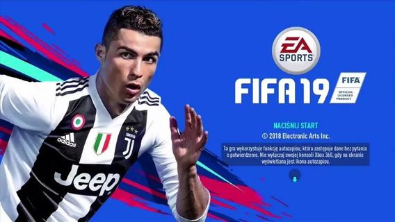 Mídia Digital Fifa 19 Xbox360