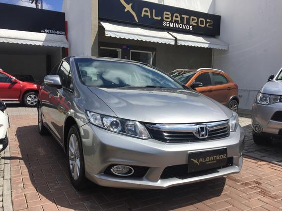 Honda Civic 2.0 Lxr Completo - Único Dono 2013/2014