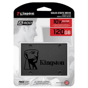 Hd Ssd 120gb Kingston Sata 3 A400 Lacrado 2,5 Note E Pc