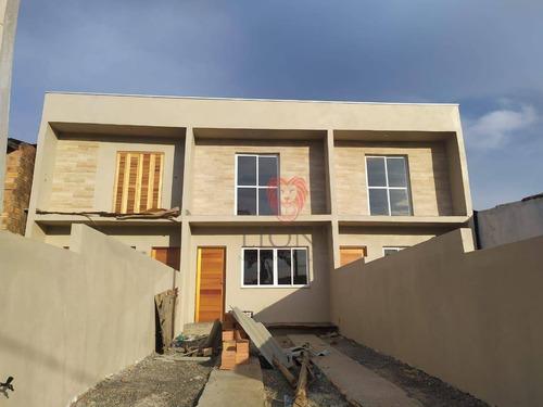Imagem 1 de 2 de Sobrado Com 2 Dormitórios À Venda, 76 M² Por R$ 219.000,00 - Bom Sucesso - Gravataí/rs - So0480