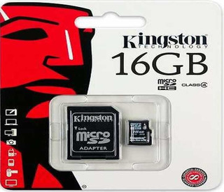 Memoria Micro Flash Sd Kingston 16gb