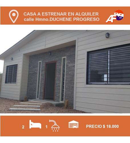 Ariel Fernandez Alquilo Casa En Progreso A Estrenar