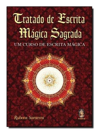Livro Tratado De Escrita Mágica Sagrada