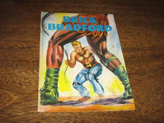 Brick Bradford Ano 1 Nº 12 Ano: 1966 Editora Lord Cochrane