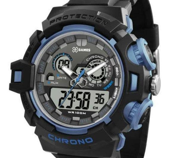 Relógio Masculino X-games Xmppa247 Bxpx Anadig Multi Função