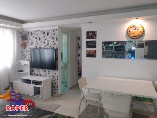 Imagem 1 de 27 de Lindo Apartamento De 55m² Na Vila Silvia Com 2 Quartos, Sala Dois Ambientes, Cozinha Planejada E Vaga Na Garagem. Próximo A Estação Engenheiro Goulart - Ap01112 - 69452037