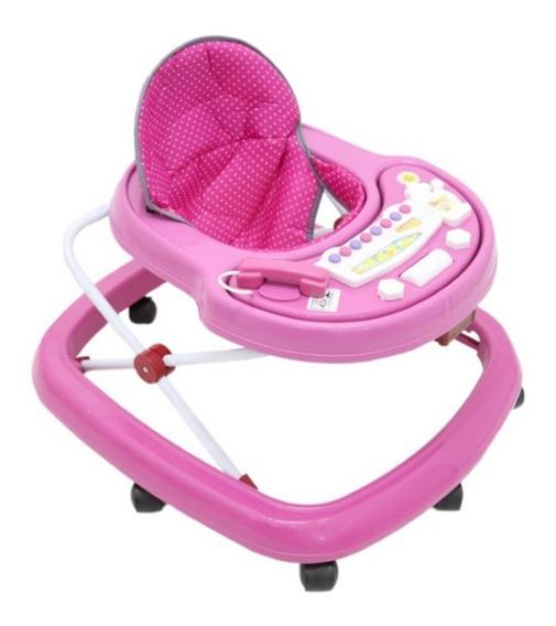 Andador Musical Infantil Bebê Menina Menino Barato Am2