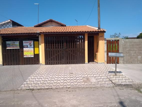 Casa Bem Conservada Em Mongaguá R$ 195 Mil