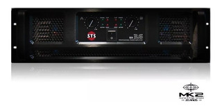 Amplificador De Potencia Sts Sx-3.6 2x1800w 2ohm 3u Rack 6pa