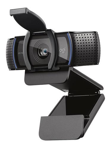 Webcam Camara Web Logitech C920s Pro Hd 1080p Micrófono Pce