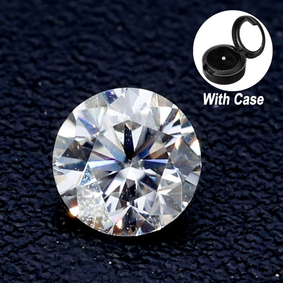 0.10cts Excelente Blanco Natural Diamante G Color 3mm Redond