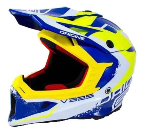 Casco Moto Origine V325 Arrow Azul T:m. Lavalle Moto