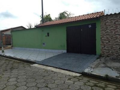 Casa Lado Praia Em Itanhaém, 2 Dormitórios - 5169/p