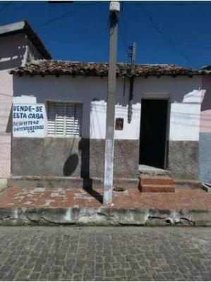 Casa Para Vender Em Inhuma - Pi ( Centro Da Cidade)