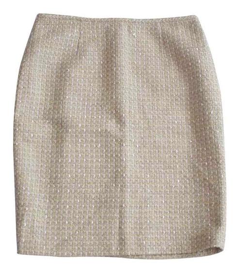 Falda Calvin Klein Mujer Talla S Color Beige