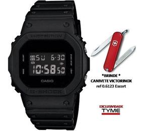 Relógio Casio G-shock Dw-5600bb-1dr Promo + Brinde C/ Nfe