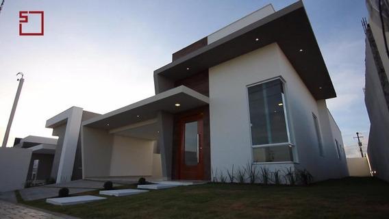 Casa Com 3 Dormitórios À Venda, 149 M² Por R$ 430.000,00 - Parque Das Árvores - Parnamirim/rn - Ca7115