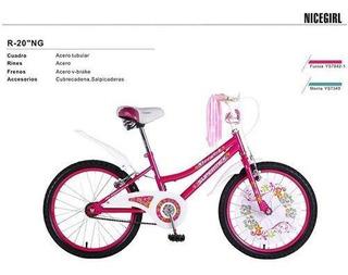 Bicicleta R20 Nice Girl Niña