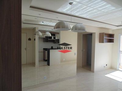 Apartamento Com 2 Dormitórios Para Alugar, 55 M² Por R$ 1.300/mês - Residencial Dona Margarida - Santa Bárbara D