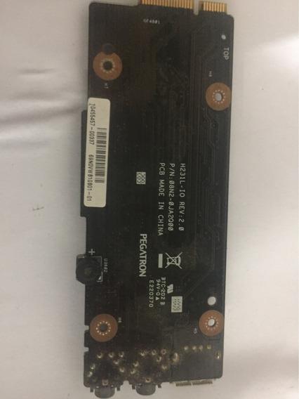Placa De Áudio E Usb Notebook Lg R38 R380