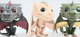 Funko Pop Drogon /rhaegal /viserion - Game Of Thrones