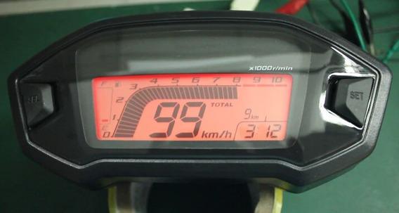 Painel Digital Universal Estil Cb500 Adaptável Qualquer Moto