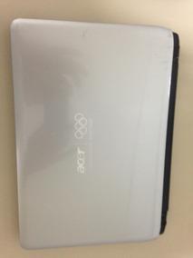 Vendo Notebook Acer Aspire 1810tz Em Bom Estado Hd 500