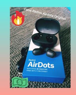 Promoção Fone De Ouvido Xiaomi Redmi Airdots Original + Cabo