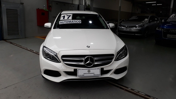 Mercedes-benz Classe C 1.6 Avantgarde Turbo Flex 4p 2017