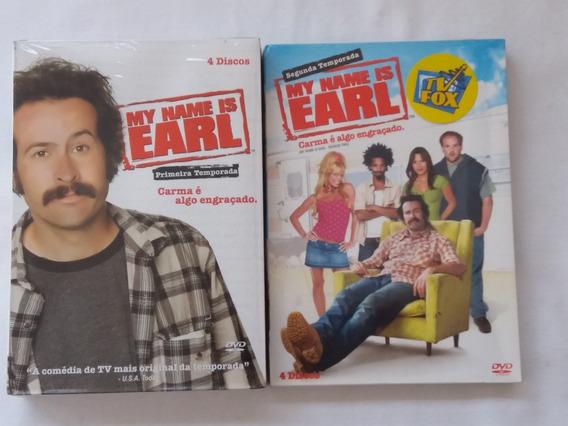 Box Dvd My Name Is Earl 1ª E 2ª Temporadas-originais-lacrado
