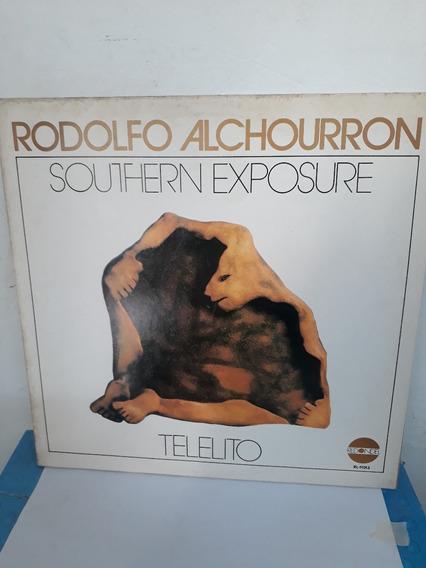 Rodolfo Alchourron*lp*telelito*sello Redondel*nuevo