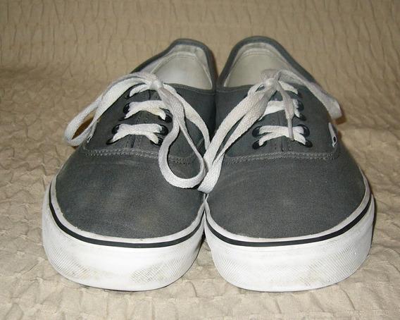 zapatillas vans hombre 43 gris