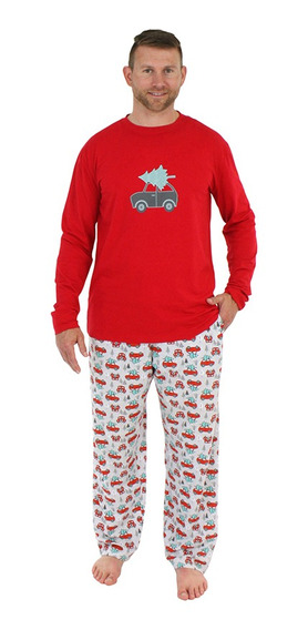 Conjunto De Pijamas Navideños Para Hombres, Camisetas De Man