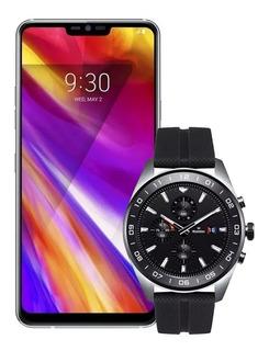 Celular Lg G7 Thinq Lmg710 + Reloj Lg Smartwatch Lmw315