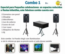 Alquiler De Sonido, Humo, Burbujas, Espuma, Iluminacion