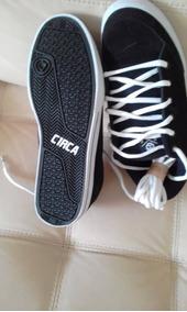 Zapatos Circa Originales Hombres Negro Talla Talla Usa 11, 5