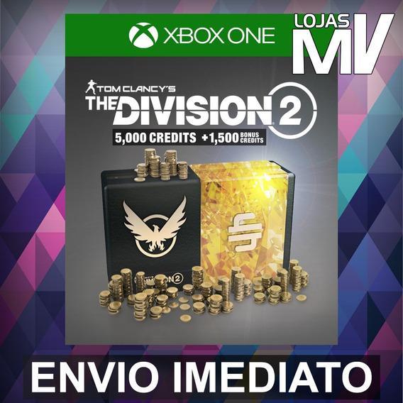 Tom Clancys The Division 2 6500 Créditos Premium Xbox Código