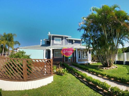 Imagem 1 de 30 de Casa Com 2 Dormitórios À Venda, 202 M² Por R$ 1.490.000,00 - Campeche - Florianópolis/sc - Sc - Ca0009_feelin
