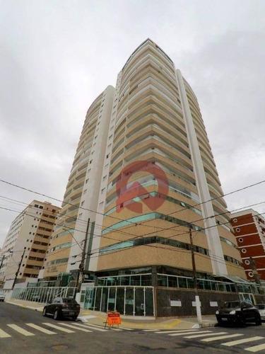 Apartamento Com 2 Dormitórios À Venda, 89 M² Por R$ 335.000,00 - Tupi - Praia Grande/sp - Ap3256