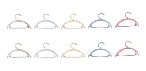 Perchas Ropa Perchas Estantes De Metal 1/12 Hogar