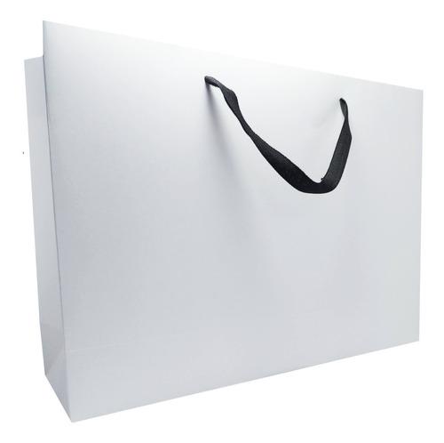 Imagen 1 de 4 de Bolsas De Cartulina 43x30x12cm X 10u Sublimable