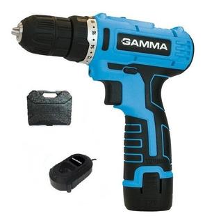 Taladro Atornillador Inalambrico Gamma 12v G12101 2 Baterias