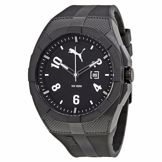 Relógio Masculino Puma Iconic Dial Preto - Frete Grátis