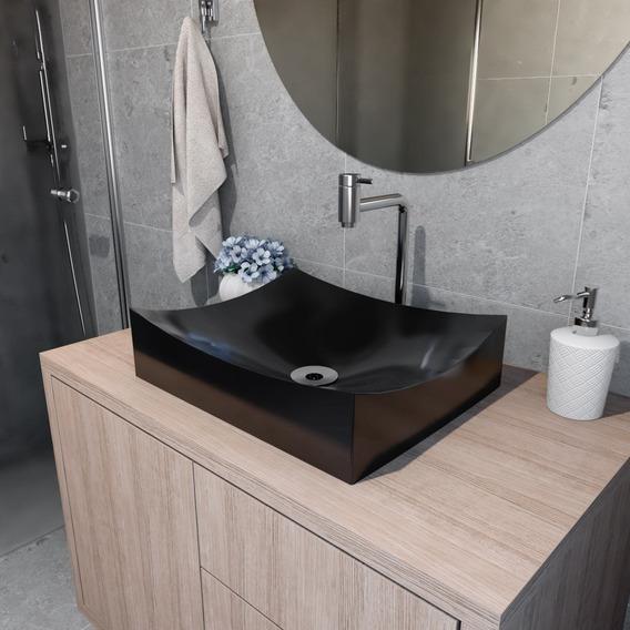 Cuba Pia Apoio P Banheiro Retangular Milano 45 Cm Branco