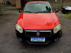Fiat Siena Hlx 1.8 2010 Vermelha Gnv