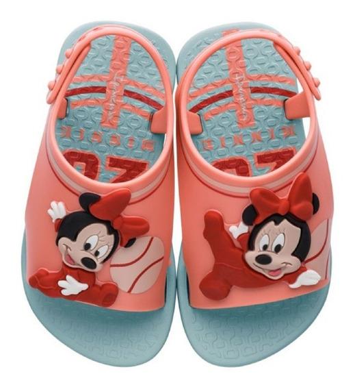 Sandália Menina Minnie Disney Verde Ipanema 26111 P C+