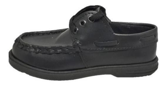 Zapato Colegial Acordonado Del 23 Al 26