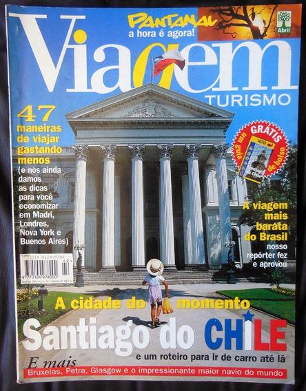 Revista Viagem E Turismo 42 Santiago Chile Pantanal 1999