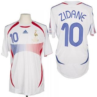 França Retro Final Wc 2006 - Zidane, Henry, Malouda, Ribery