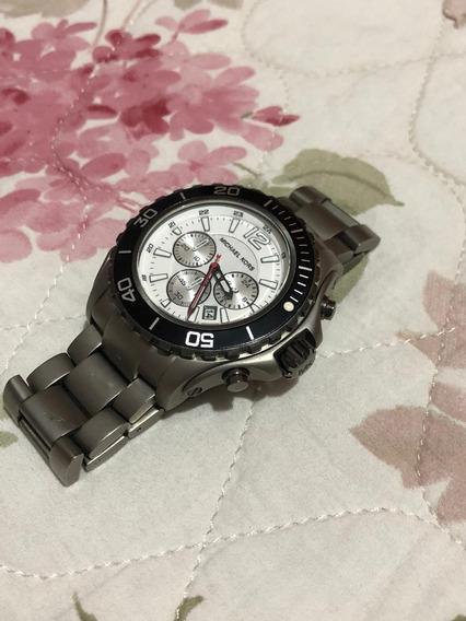 Relógio Luxo Michael Kors Mk 8230 Titanium